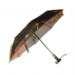 3 folding umbrella with full color printing